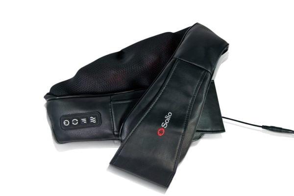 חגורת עיסוי לגב משולבת חימום מבית סוליו