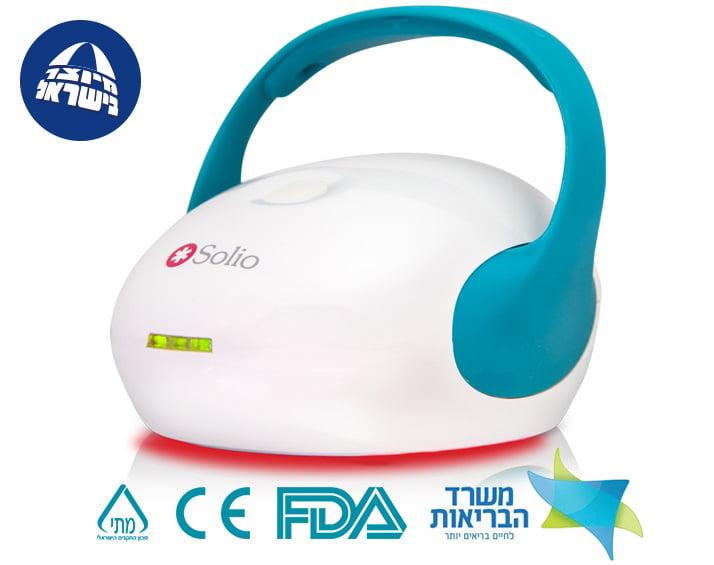 סוליו אלפא קיור פלוס נגד כאבים היחיד שמיוצר בישראל באישור מכון התקנים משרד הבריאות ובאישור ה- FDA
